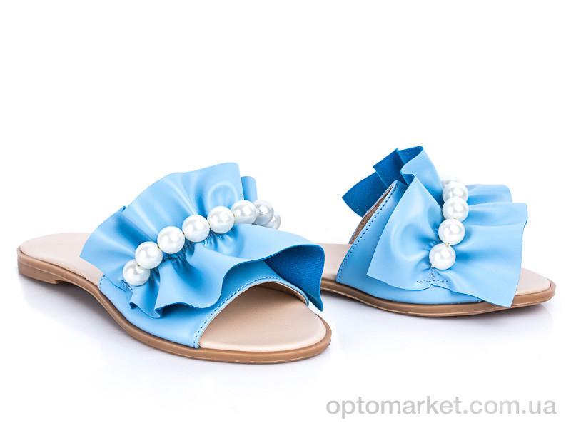 Купить Шлепки женские 116 голубой G&M голубой, фото 1