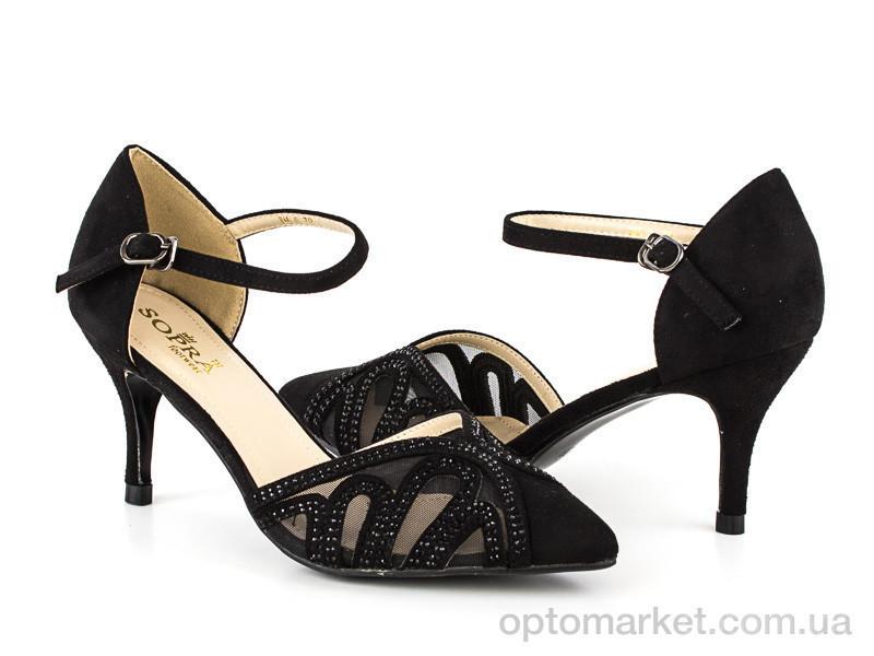 Купить Босоножки женские 135531 Sopra черный, фото 1