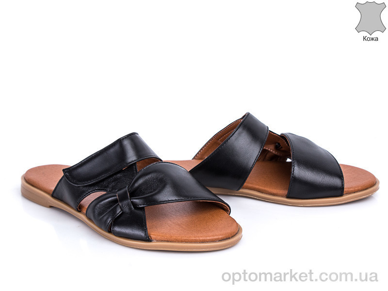 Купить Шлепки женские 219 черный G&M черный, фото 1