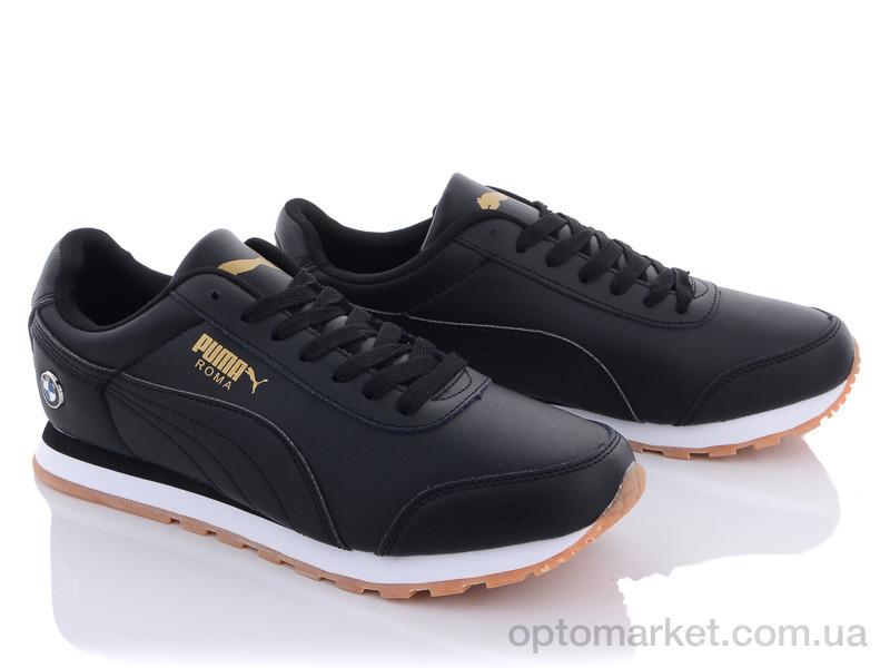 Купить Кроссовки мужчины A202-2 Puma черный, фото 2
