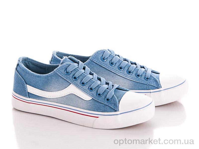 Купить Кеды женские X-2 l.blue Class Shoes голубой, фото 1