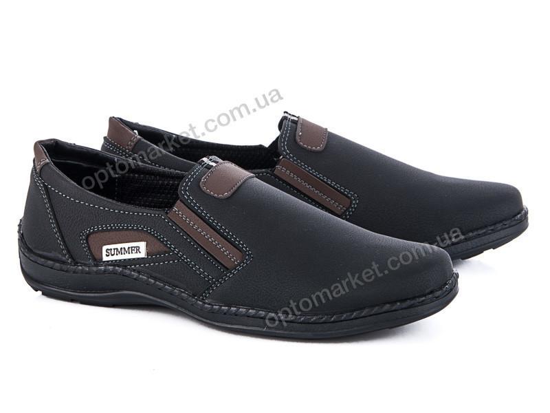 Купить Туфли мужчины Кл.11-2 черн.-корич. Sunshine Paolla черный, фото 1