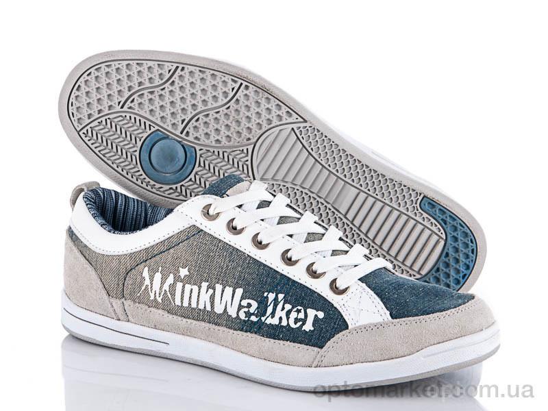 Купить Кеды мужчины FJ137-1 white-jeans Wink, фото 1