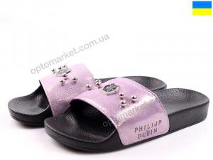 Купить Шлепки женские Anry М01 лиловый крис Anry фиолетовый