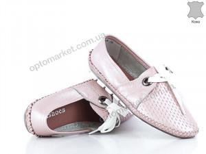 Купить Мокасины женские 135086 Allshoes розовый