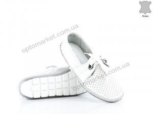 Купить Мокасины женские 135087 Allshoes белый