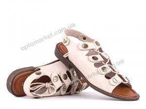 Купить Босоножки женские 141662 Loris Bottega бежевый