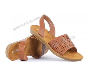 Купить Босоножки женские 142887 Loris Bottega коричневый