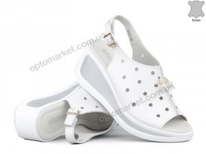 Купить Босоножки женские 143373 Allshoes белый