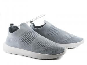 Купить Кроссовки мужчины 4-481 l.grey Violeta серый