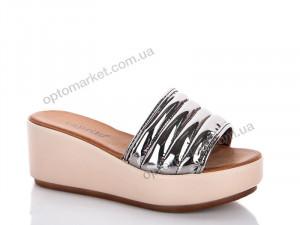 Купить Шлепки женские 789Y601 platin Caprito бронзовый