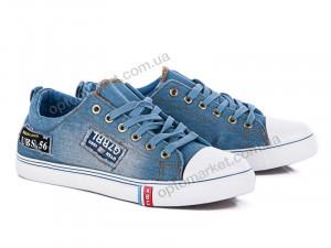 Купить Кеды мужчины 863 голубой Class Shoes голубой