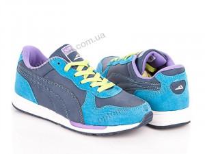 Купить Кроссовки женские B7585 l.blue-blue Veer синий