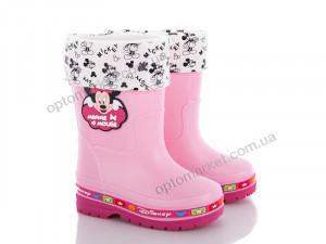 Купить Сапоги детские C01 Disney розовый