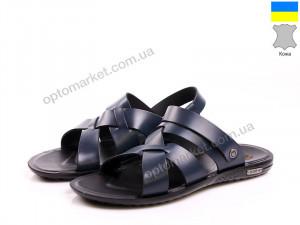 Купить Сандалии мужчины Footprints 7221-T015 Blue фур Footprints синий