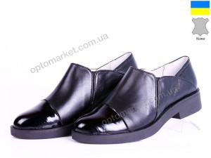 Купить Туфли женские Kostas 718 кожа лак чёрн Kostas черный