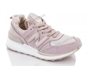 Купить Кроссовки женские W7172-4 CROOS розовый