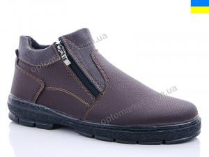 Купить Ботинки мужчины Yulius A41 коричневый Yulius коричневый