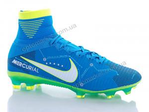 Купить Футбольная обувь мужчины Бутсы Nike Mercurial Neymar (40-45) blue Nike голубой