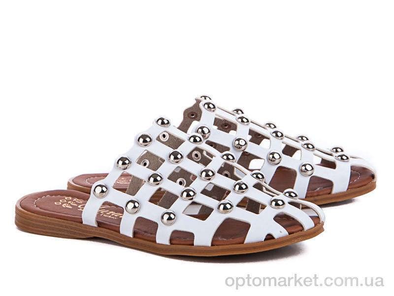 Купить Сабо женские 10130 белый Class Shoes белый, фото 2