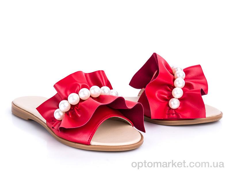 Купить Шлепки женские 116 красный G&M красный, фото 2