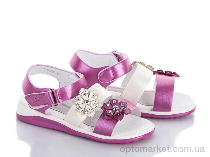 Купить Босоножки детские 31B-26 Совенок розовый, фото 2