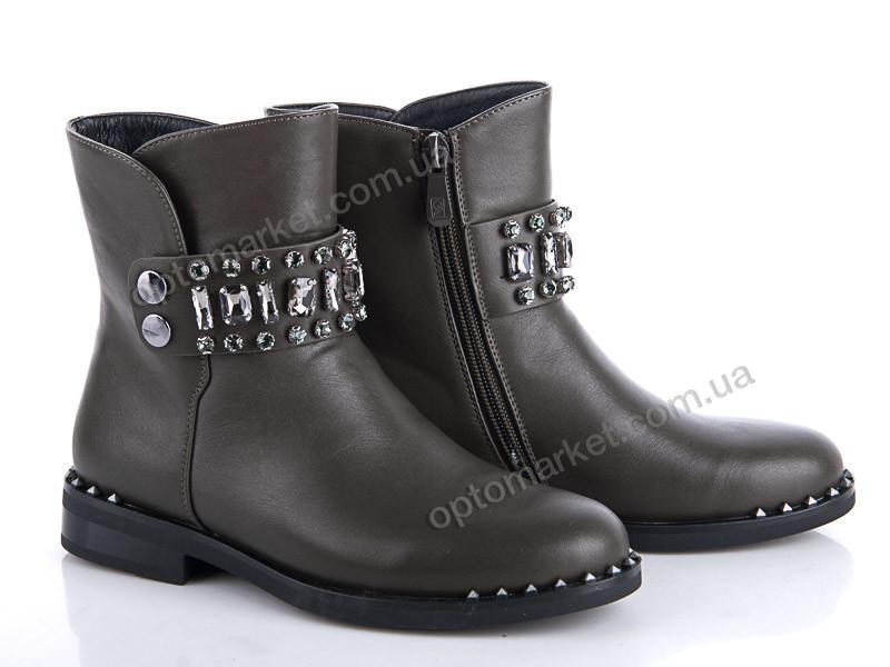 Купить Ботинки детские 37-H1101-C Эльффей хаки, фото 2
