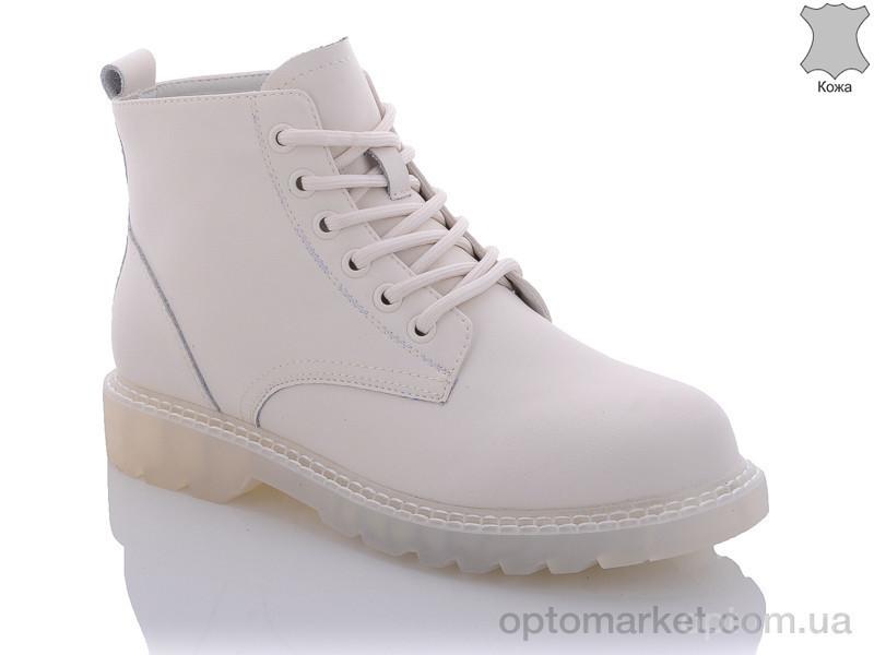 Купить Ботинки женские 388150001B white Gemeiq бежевый, фото 2