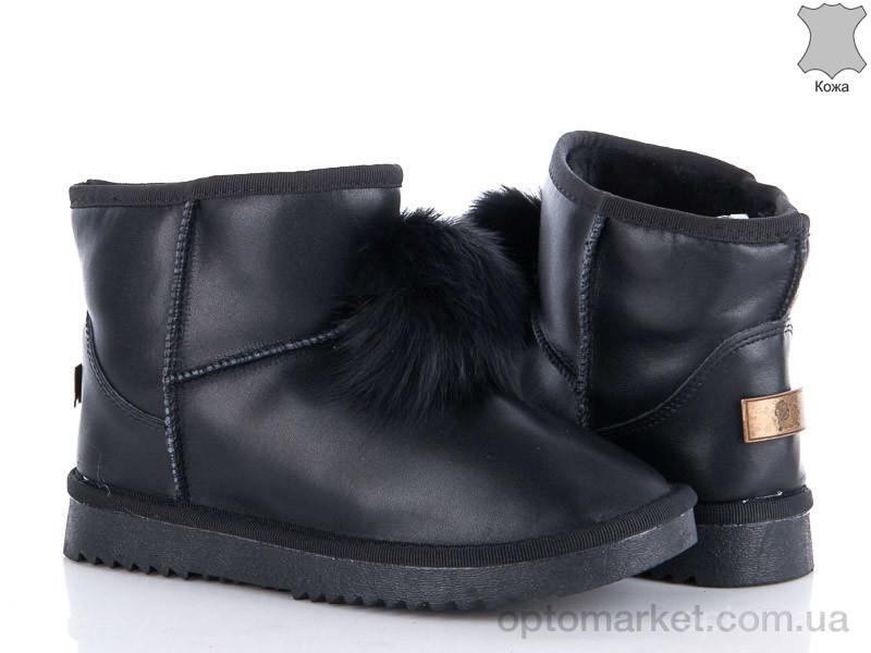 Купить Угги женские 605-6 Diana черный, фото 2