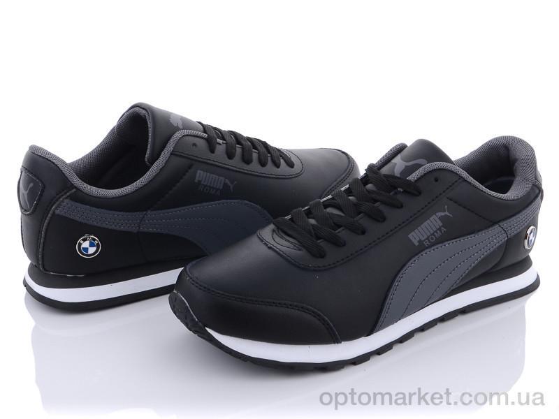 Купить Кроссовки мужчины A202-10 Puma черный, фото 3