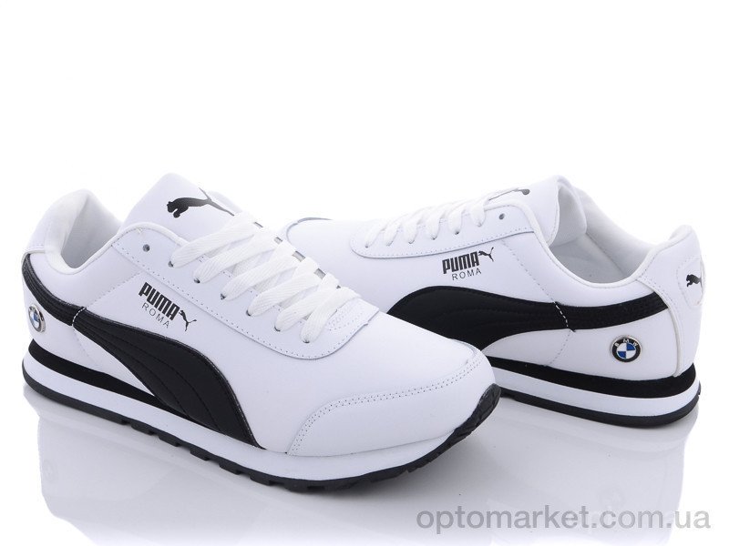 Купить Кроссовки мужчины A202-8 Puma белый, фото 3