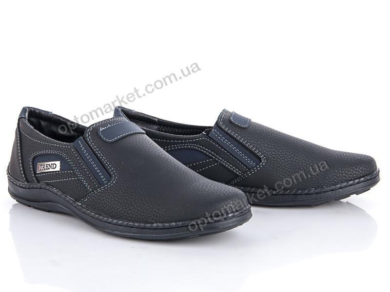 Купить Туфли мужчины Sunshine Кл-11-2 ч.син SunShine черный, фото 2