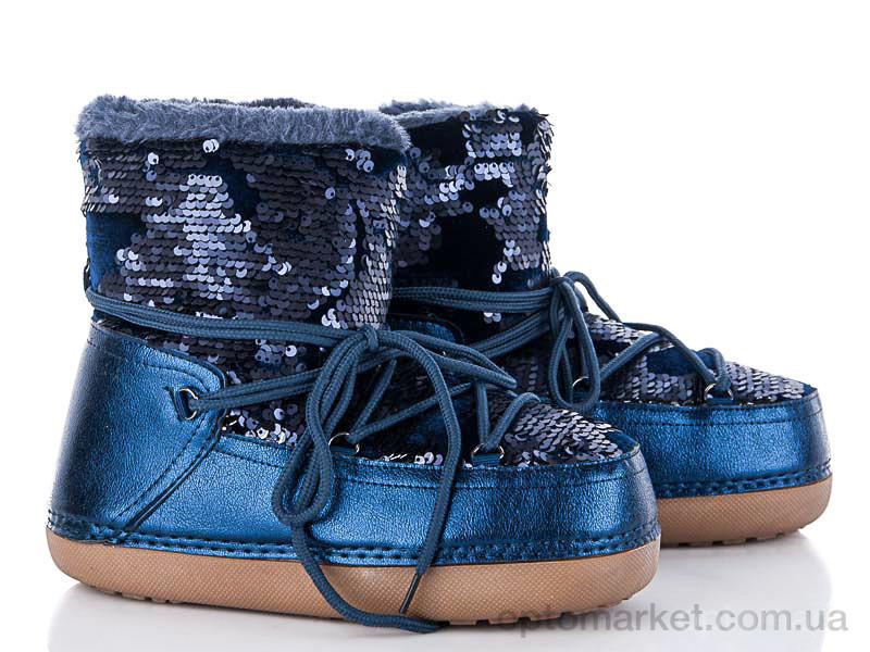 Купить Луноходы женские TBL-3 blue Comer синий, фото 2