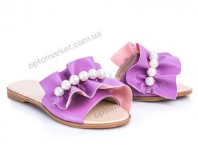 Купить Шлепки женские 116 лиловый G&M фиолетовый