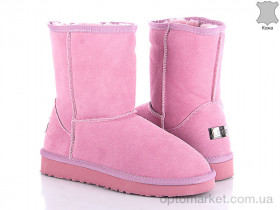 Купить Угги женские 131143 Sopra розовый