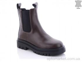 Купить Ботинки женские 388152019B brown Gemeiq коричневый