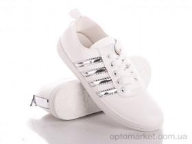 Купить Мокасины женские T107 silver Class Shoes белый