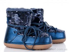Купить Луноходы женские TBL-3 blue Comer синий