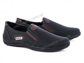 Купить Туфли мужчины Кл.11-2 черн.-корич. Sunshine Paolla черный