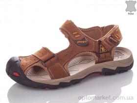 Купить Сандалии мужчины YLL1927-5 Yalasou коричневый