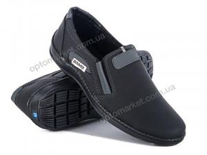 Туфли мужчины 11-2 черн. Sunshine Paolla синий оптом от Optomarket