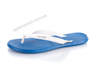 Шлепки мужчины MML18621 royal-white Razor синий оптом от Optomarket